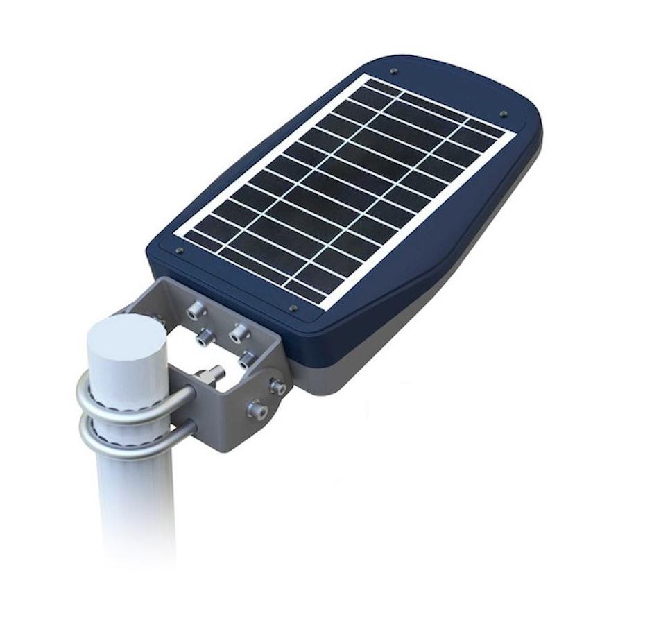 lampadaire solaire puissant 10 w led telecommande zs cl1. Black Bedroom Furniture Sets. Home Design Ideas