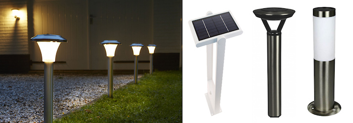 Lampe Solaire de Jardin High Lumens