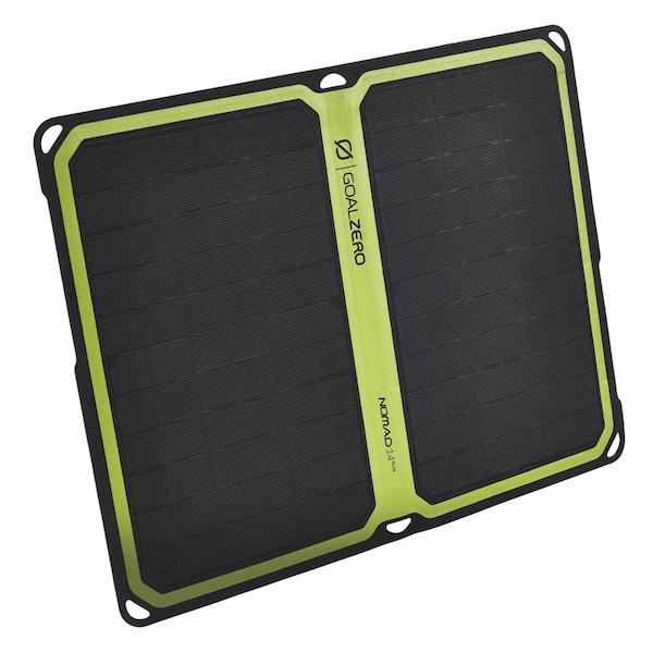 panneau solaire nomad pliable 14 plus goal zero solutions compl tes goal 0 objetsolaire. Black Bedroom Furniture Sets. Home Design Ideas