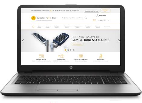 Eclairage Solaire Professionnel - Site ZS Energie Solaire | Objetsolaire