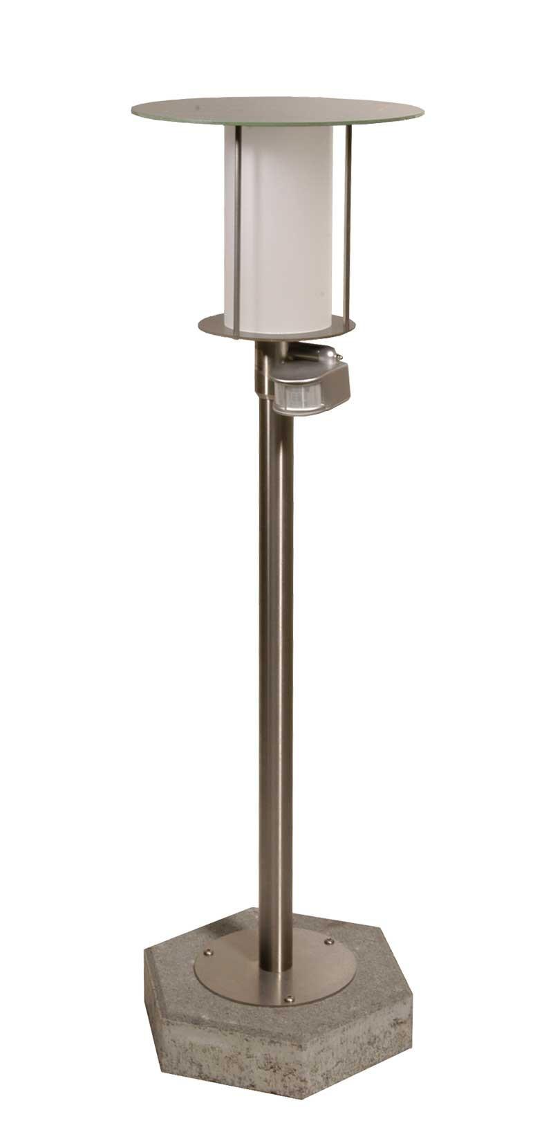 Lampadaire solaire puissant silverstarii eclairage - Lampe solaire de jardin avec detecteur ...