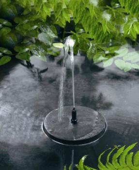 Photo Fontaine Solaire Flottante Jet d'Eau 150 Smart Solar