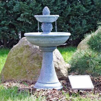 Fontaines Solaires Bain Doiseaux Fontaine Photovoltaïque