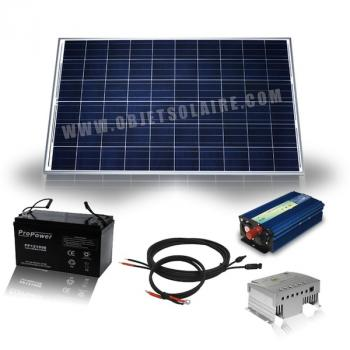 Photo Kit Solaire Complet 255W-12v-230V-poly
