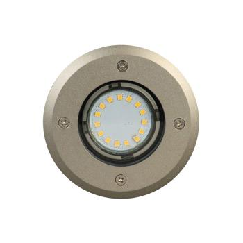 Spot Led Encastrable Inox 12v Easy Connect Broome Rond 3 W