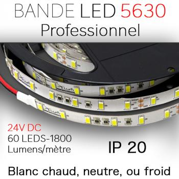 Ruban LED SMD 5630 Mulhouse 60 leds au mètre