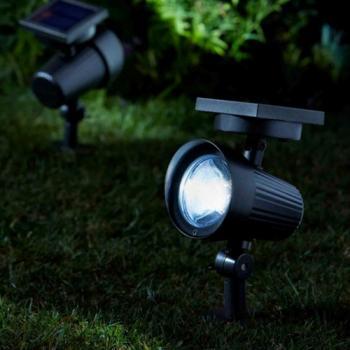 spots solaires spot solaire puissant clairage solaire objetsolaire. Black Bedroom Furniture Sets. Home Design Ideas