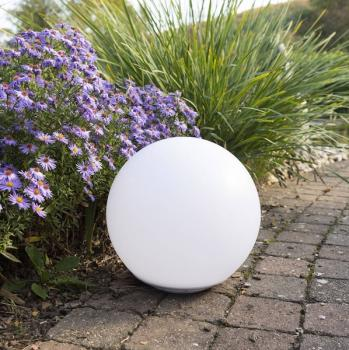 Photo Boule Solaire RGB 30 cm Flottante IP67 Globo