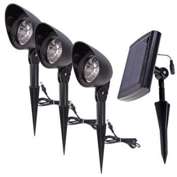 Eclairage Exterieur Solaire Ultra Puissant. Finest Spots Solaires De ...