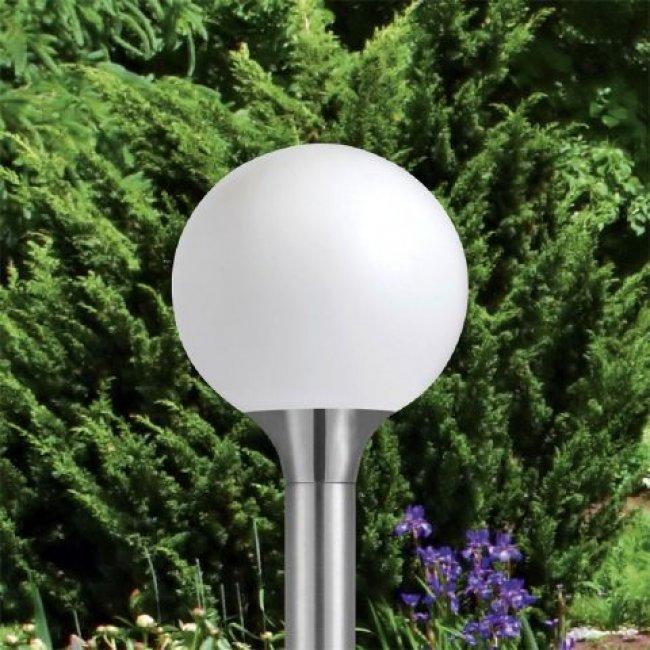 lampadaire solaire boule samos lampadaire solaire jardin. Black Bedroom Furniture Sets. Home Design Ideas