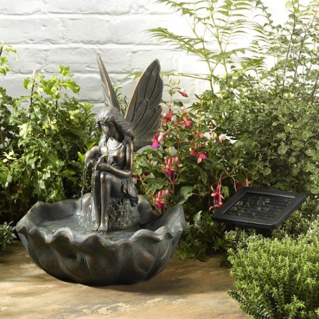 Fontaine Solaire Coquillage Fontaines Solaires Jardin Objetsolaire