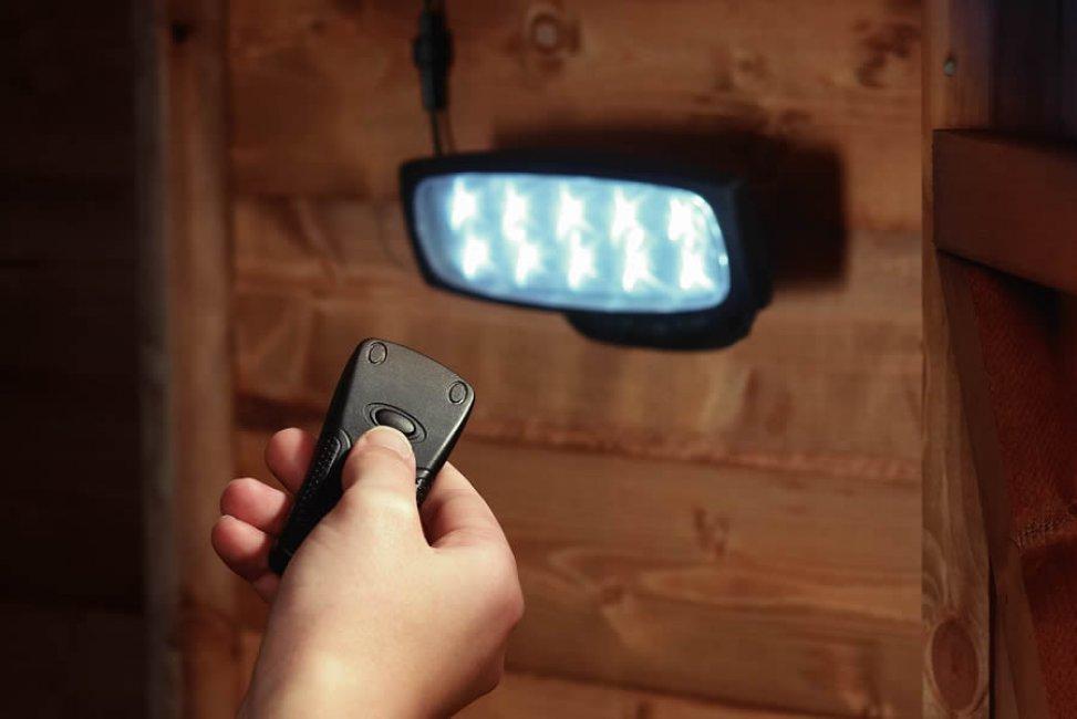 Eclairage Solaire Pour Cabanon Telecommande Eclairage Solaire