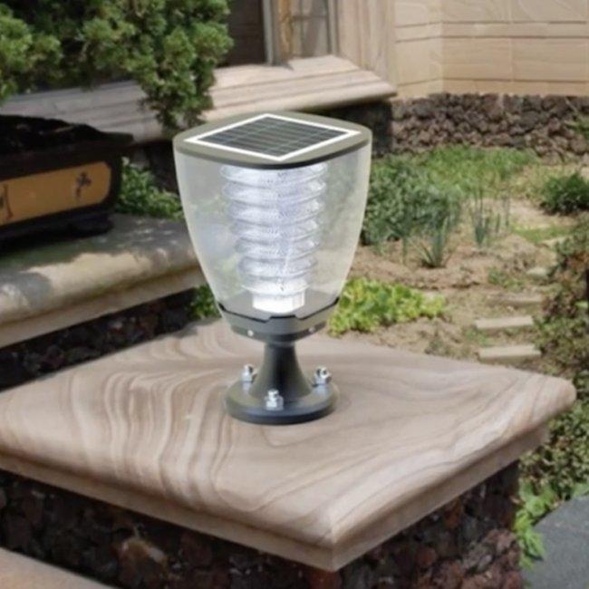 Lampe Solaire Puissante De Poteau 100 Lumens Julia2 N Ip 65