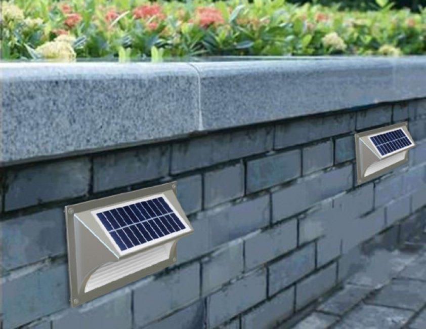 Applique Solaire Lampe Escalier Zs Sl6 20 Lumens