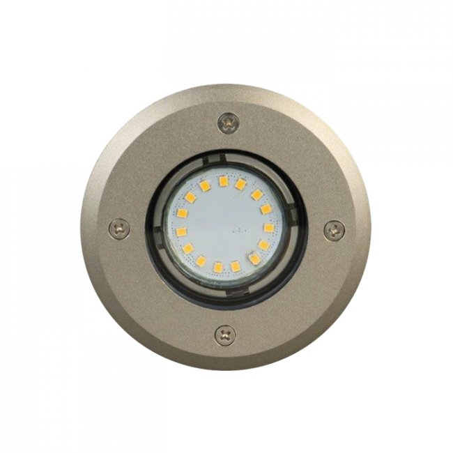 Spot Led Encastrable Inox 12v Easy Connect Broome Rond 3 W IP67