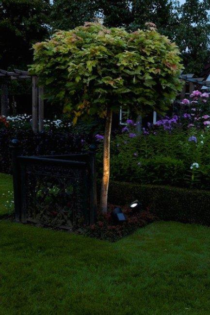spot solaire de jardin san marino 10 lumens spot eclairage solaire objetsolaire. Black Bedroom Furniture Sets. Home Design Ideas