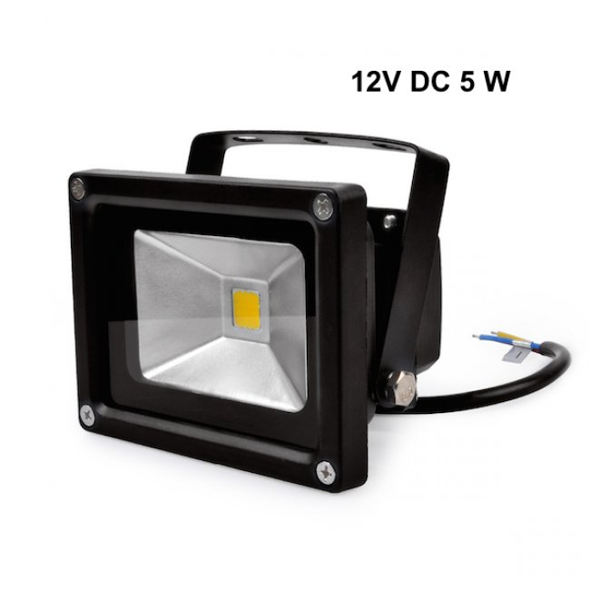 Projecteur Led 12V DC 5W IP67 4000°K