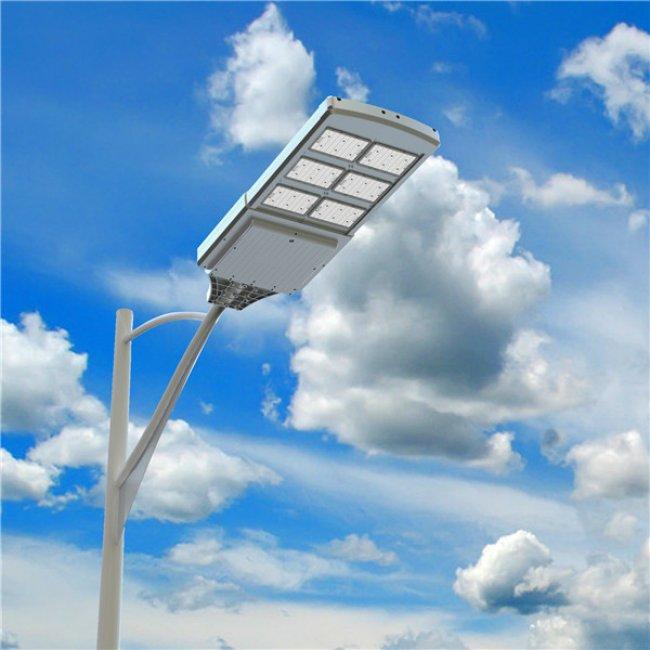 lampadaire solaire led puissant 4000 lumens led zs 40 eclairage solaire puissant objetsolaire. Black Bedroom Furniture Sets. Home Design Ideas