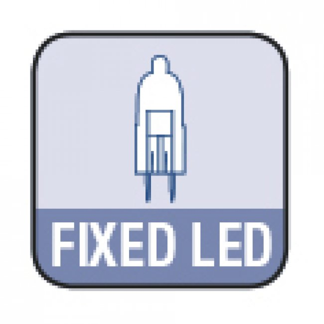 Lot de 2 Spots Led Encastrables Inox 12v Easy Alpha 70- 43 Lumens