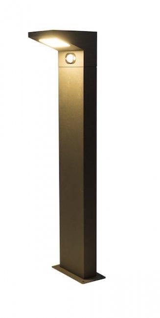 borne solaire puissante d tecteur 150 lumens aluminium fione borne solaire objetsolaire. Black Bedroom Furniture Sets. Home Design Ideas