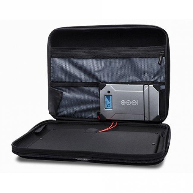 valise solaire chargeur ordinateur portable volta c chargeur solaire nomade objetsolaire. Black Bedroom Furniture Sets. Home Design Ideas