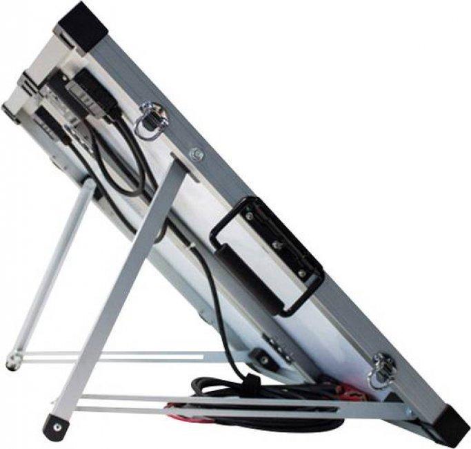 panneau solaire valise chargeur batterie 12v 60 w r gulateur chargeur solaire objetsolaire. Black Bedroom Furniture Sets. Home Design Ideas