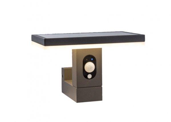 applique solaire puissante 210 lumens aluminium arianne applique solaire objetsolaire. Black Bedroom Furniture Sets. Home Design Ideas